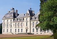 France, Loir-et-Cher (41), château de Cheverny. // France, Loir et Cher (Department), Cheverny castle.