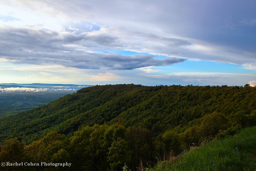 &quot;Passing Storm on the Ridge&quot;<br />