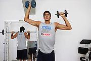 Bormio, 16/07/2006<br /> Basket, Nazionale Italiana Maschile Senior<br /> Allenamento in Palestra<br /> Nella foto: Alessandro Cittadini<br /> Foto Ciamillo