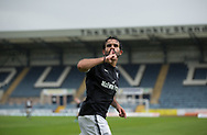 Dundee&rsquo;s Sofien Moussa celebrates after scoring - Dundee v Buckie Thistle, Betfred Cup at Dens Park, Dundee, Photo: David Young<br /> <br />  - &copy; David Young - www.davidyoungphoto.co.uk - email: davidyoungphoto@gmail.com