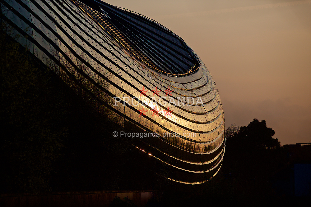 DUBLIN, REPUBLIC OF IRELAND - Thursday, March 23, 2017: A general view of the Aviva Stadium (Lansdowne Road) ahead of the 2018 FIFA World Cup Qualifying Group D match against Republic of Ireland. (Pic by Paul Greenwood/Propaganda)