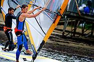 Olympische zeilers trainen in Weymouth<br /> <br /> 27-06-2012