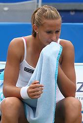 Polona Hercog of Slovenia at 3rd Round of Banka Koper Slovenia Open 2008, on July 23, 2008, Portoroz - Portorose, Slovenia. (Photo by Vid Ponikvar / Sportal Images)...