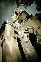 Beautiful French colonial church on Shamian Island in Guangzhou, China.