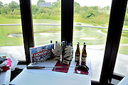 A selection of prizes up for grabs in the raffle during the Julian Speroni Testimonial Golf Day at the Surrey National Golf Club, Chaldon, United Kingdom on 9 September 2015. Photo by Michael Hulf.