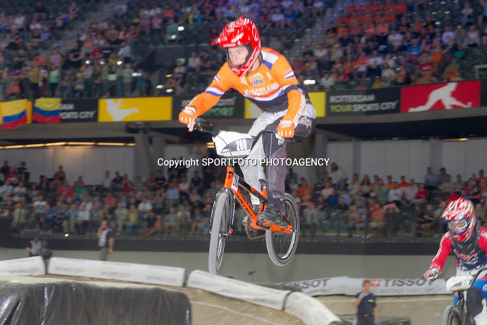 27-07-2014: Wielrennen: WK BMX : Rotterdam: Niek Kimman World Champion junior men BMX