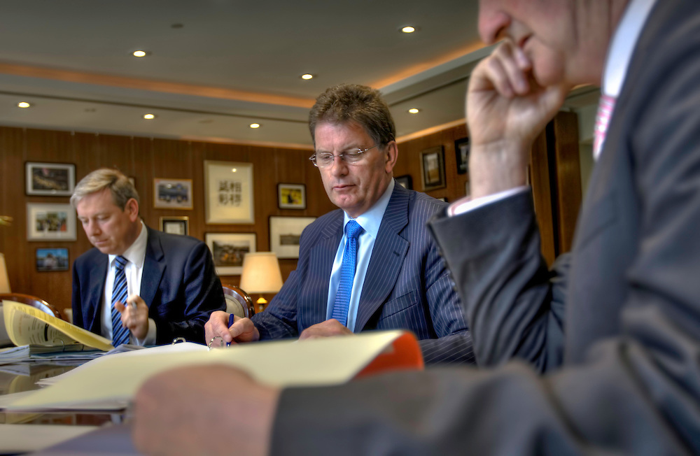 Victorian Premier Ted Baillieu after one year in office. Cabinet meeting in the premiers office. Pic By Craig Sillitoe CSZ/The Sunday Age<br /> 21/11/2011 This photograph can be used for non commercial uses with attribution. Credit: Craig Sillitoe Photography / http://www.csillitoe.com<br />