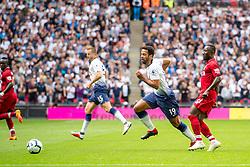 September 15, 2018 - Mousa Dembélé of Tottenham Hotspur during the Premier League match between Tottenham Hotspur and Liverpool at Wembley Stadium, London, England on 15 September 2018. Photo by Salvio Calabrese. (Credit Image: © AFP7 via ZUMA Wire)