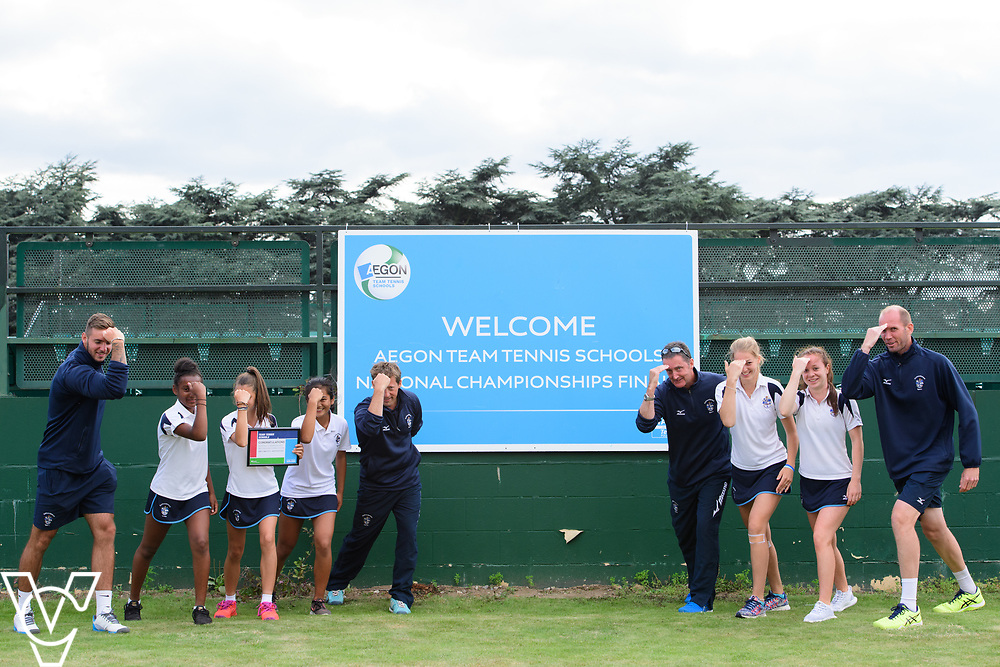 Culford School A<br /> <br /> Team Tennis Schools National Championships Finals 2017 held at Nottingham Tennis Centre.  <br /> <br /> Picture: Chris Vaughan Photography for the LTA<br /> Date: July 14, 2017