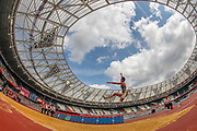 Malaika Mihambo, Germany, Women's Long Jump, during the Muller Anniversary Games 2019 at the London Stadium, London, England on 21 July 2019.