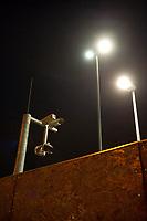 14 JUN 2010, BERLIN/GERMANY:<br /> Kameras sichern die Baustelle fuer den Neubau des Bundesnachrichtendienstes, BND, Chausseestrasse<br /> IMAGE: 20100614-02-011