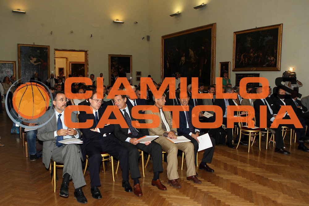 DESCRIZIONE : Roma Rome Campidoglio Nba Europe Live Tour Conferenza stampa di presentazione<br /> GIOCATORE : <br /> SQUADRA : Lottomatica Virtus Roma Nba Europe Live Tour<br /> EVENTO : Roma Rome Campidoglio Nba Europe Live Tour Conferenza stampa di presentazione<br /> GARA : <br /> DATA : 07/07/2006 <br /> CATEGORIA : <br /> SPORT : Pallacanestro <br /> AUTORE : Agenzia Ciamillo-Castoria/E.Castoria