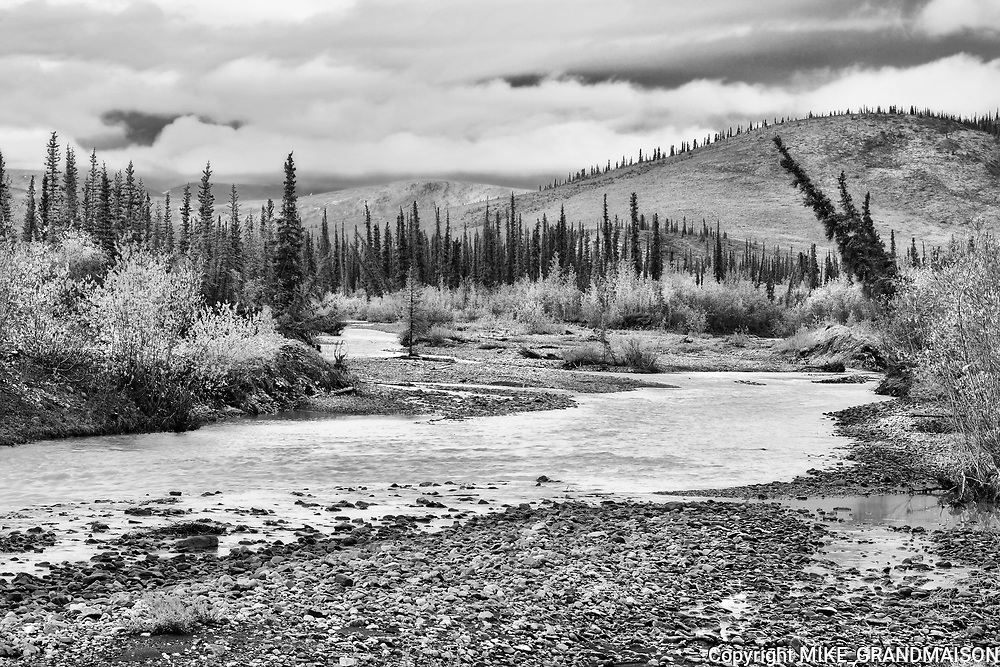 Red Creek<br />Dempster Highway<br />Yukon<br />Canada