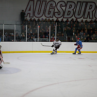 NCAA Division III, MIAC Conference Men's Hockey Championship game. Ed Saugestad Ice Arena, Augsburg University, March 2, 2019