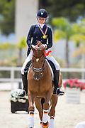 Rebecca Horstmann - Friend of Mine 2<br /> European Championships Dressage 2016<br /> © DigiShots