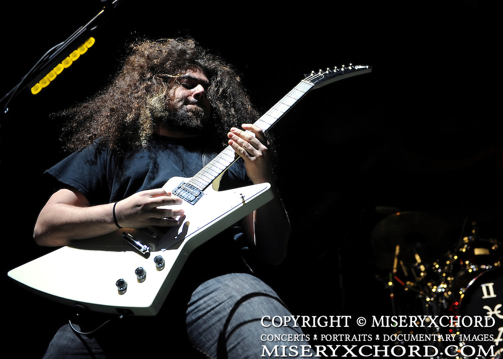 """Coheed & Cambria @ The Forum in Inglewood, California USA on March 7, 2009 on Slipknot's """"All Hope Is Gone"""" tour"""