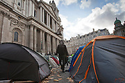 Occupy London OSLX, St Pauls Catherdral, London.