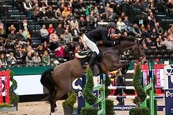 THIEME Andre (GER), Crazy Girl V<br /> Leipzig - Partner Pferd 2019<br /> Eröffnungsspringen<br /> 17. Januar 2019<br /> © www.sportfotos-lafrentz.de/Stefan Lafrentz