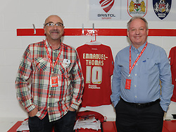 Stadium Tour - Photo mandatory by-line: Dougie Allward/JMP - Mobile: 07966 386802 - 27/09/2014 - SPORT - Football - Bristol - Ashton Gate - Bristol City v MK Dons - Sky Bet League One