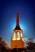 Arlington Theatre Tower HDR 140713