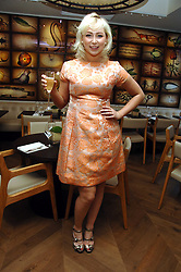 Singer VICTORIA HART at the opening party of the restaurant and bar The Botanist, 7 Sloane Square, London SW1 on 13th May 2008.<br /><br />NON EXCLUSIVE - WORLD RIGHTS