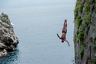 32&deg; MarMeeting - Mediterrean cup - High Diving Competition<br /> Tuffi Grandi Altezze<br /> Fiordo di Furore - Furore Fiord Furore Costiera Amalfitana (SA)<br /> Photo &copy; YuriGiglio/deepbluemedia<br /> 20180903