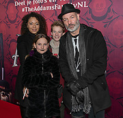 2019, December 01. Pathe ArenA, Amsterdam, the Netherlands. Eddy Zoey at the dutch premiere of The Addams Family.