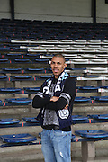 New Dundee forward Phil Roberts at Dens Park<br /> <br />  - &copy; David Young - www.davidyoungphoto.co.uk - email: davidyoungphoto@gmail.com