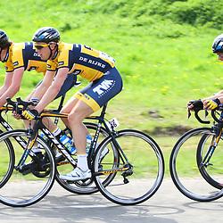 61e Ronde van Overijssel CT Shanks-De Rijke Mats Boeve, Bas Stamsnijder, Christophe Pfingsten