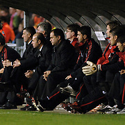 NLD/Eindhoven/20051101 - CHampions League PSV - AC Milan, reservebank AC milan