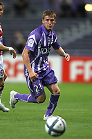 FOOTBALL - FRENCH CHAMPIONSHIP 2010/2011 - L1 - TOULOUSE FC v STADE BRESTOIS - 07/08/2010 - PHOTO ERIC BRETAGNON / DPPI - ADRIAN GUNINO (TOU)