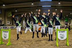 Tean Brabant<br /> Nationaal Kampioenschap Pony's <br /> Oud Heverlee<br /> © Hippo Foto - Dirk Caremans<br />  07/03/2020