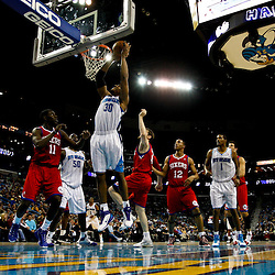 January 3, 2011; New Orleans, LA, USA; New Orleans Hornets power forward David West (30) shoots against the Philadelphia 76ers during the second half at the New Orleans Arena. The Hornets defeated the 76ers 84-77.  Mandatory Credit: Derick E. Hingle