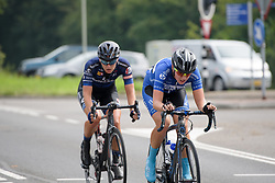 Winanda Spoor and Hoeksma try to bridge to Yonamine at Boels Rental Ladies Tour Stage 2 a 132.8 km road race from Eibergen to Arnhem, Netherlands on August 30, 2017. (Photo by Sean Robinson/Velofocus)