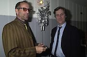 Peter Stormare and Lasse Hallstršm Talk pre-Golden Globes party. Mondrian Hotel. 20 January 2001. © Copyright Photograph by Dafydd Jones 66 Stockwell Park Rd. London SW9 0DA Tel 020 7733 0108 www.dafjones.com