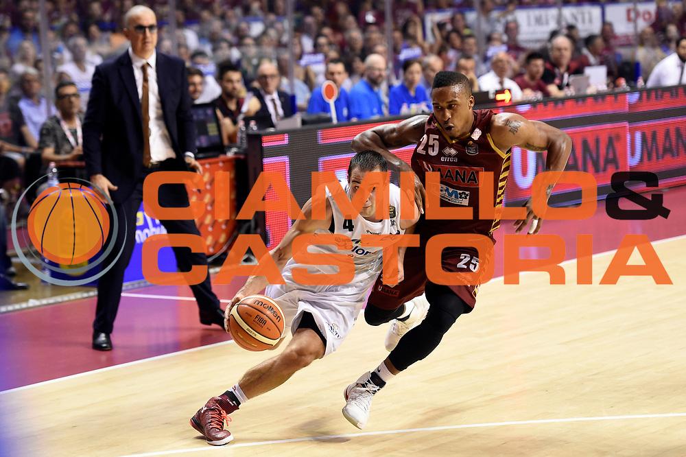 Aaron Craft<br /> Umana Reyer Venezia - Dolomiti Energia Aquila Basket Trento<br /> Lega Basket Serie A 2016/2017<br /> Playoff, finale gara 2<br /> Venezia, 12/06/2017<br /> Foto M.Ceretti / Ciamillo-Castoria