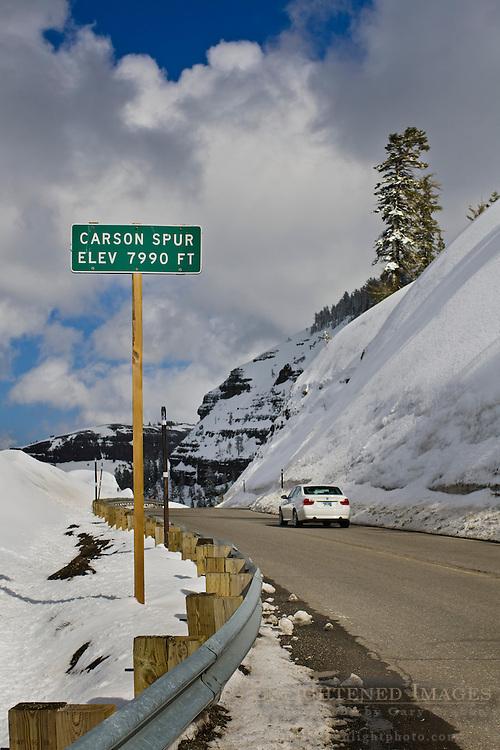 Carson Spur, near Kirkwood, El Dorado National Forest, California