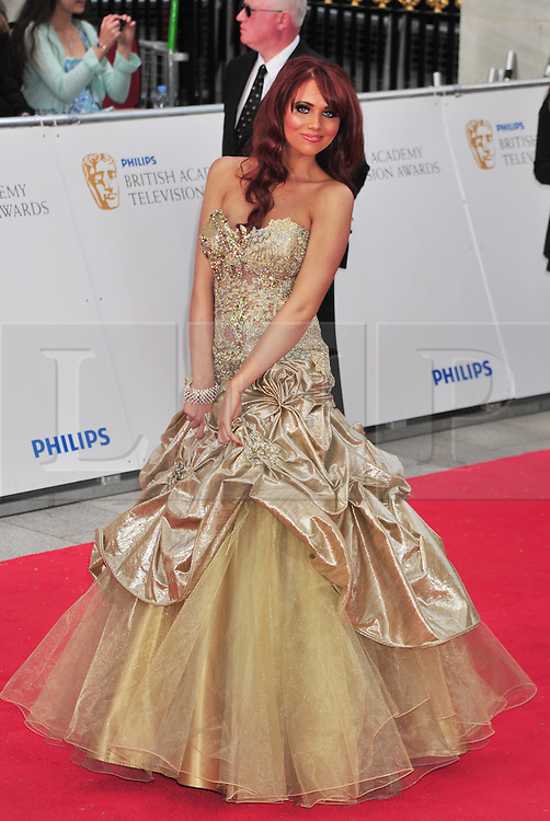 © licensed to London News Pictures. London, UK  22/05/11 Amy Childs  attends the BAFTA Television Awards at The Grosvenor Hotel in London . Please see special instructions for usage rates. Photo credit should read AlanRoxborough/LNP