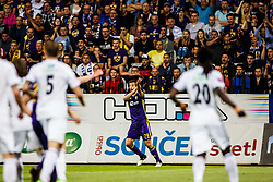 Mitja Viler #28 of NK Maribor during 1st Leg football match between NK Maribor (SLO) and FH Hafnarfjordur (ISL) in Third qualifying round of UEFA Champions League 2017/18, July 26, 2017, in Stadium Ljudski vrt, Maribor, Slovenia. Photo by Grega Valancic / Sportida