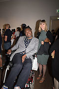 YINKA SHONIBARE, Preview of Terence Donovan: Speed of Light, Photographers Gallery, Ramillies Place, Thursday 14 July 2016,