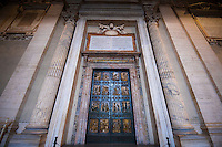 Millenium bronze doors at St. Peter's Basilica.