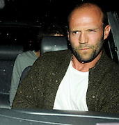 10.AUGUST.2009 - LONDON<br /> <br /> BRITHISH ACTOR JASON STATHAM LEAVING THE MAYFAIR HOTEL VIA THE BACK DOOR WITH SOME FRIENDS.<br /> <br /> BYLINE: EDBIMAGEARCHIVE.COM<br /> <br /> *THIS IMAGE IS STRICTLY FOR UK NEWSPAPERS & MAGAZINES ONLY*<br /> *FOR WORLDWIDE SALES & WEB USE PLEASE CONTACT EDBIMAGEARCHIVE - 0208 954 5968*