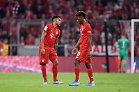 Fussball  1. Bundesliga  Saison 2019/2020  1. Spieltag  FC Bayern Muenchen - Hertha BSC Berlin       16.08.2019 Enttauschung FC Bayern Muenchen; Corentin Tolisso (li) und Kingsley Coman nach dem Spiel
