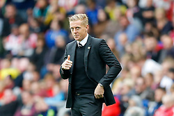 Head Coach Garry Monk of Swansea City gives a thumbs up - Photo mandatory by-line: Rogan Thomson/JMP - 07966 386802 - 27/08/2014 - SPORT - FOOTBALL - Sunderland, England - Stadium of Light - Sunderland v Swansea City - Barclays Premier League.