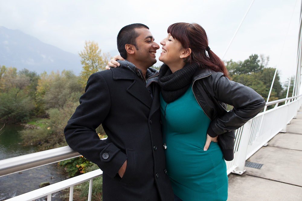 Giusy and Vinod - Gordola, Switzerland, October 2015.&nbsp;<br />