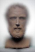 bust of Aristotle (384 B.C. -322 B.C.) Greek philosopher