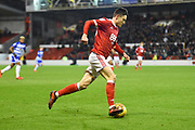Nottingham Forest forward Joe Lolley (23) during the EFL Sky Bet Championship match between Nottingham Forest and Reading at the City Ground, Nottingham, England on 20 February 2018. Picture by Jon Hobley.