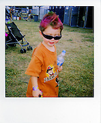 A young music fan at the Austin City Limits Music Festival, Austin Texas, September 26 2008.