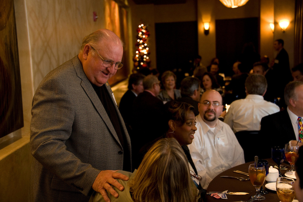 Photograph from the 2012 JP & Constable's Luncheon on December 14, 2012, at Perry's Steakhouse in the Memorial City Mall area