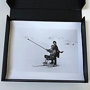 Surreal Ski Race, St. Moritz.